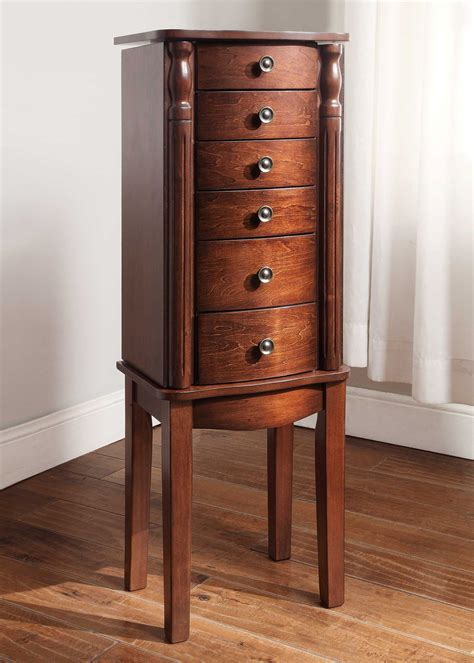jewelery armoires hives honey victoria jewelry armoire sears