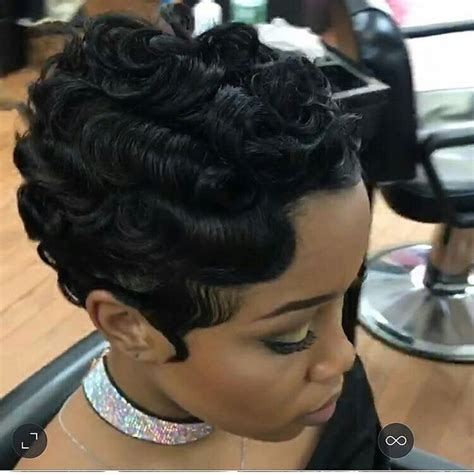 photos soft structured waves black finger wave hairstyles for black hair best black hair 2017
