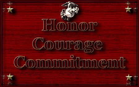 Honor Courage And Commitment Essay by Myths Values And Vision Of The Usmc Symbolism In The Usmc