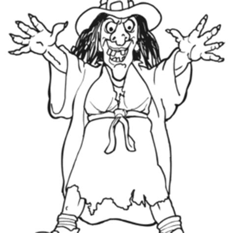 witch coloring pages scary witch s head scary witch