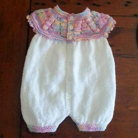 knitting pattern newborn romper 205 best images about baby overalls rompers onesies on