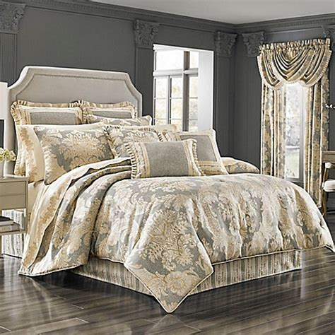 buy j queen new york rialto queen comforter set in jade