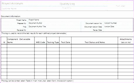quality assurance spreadsheet template quality assurance excel template images template design