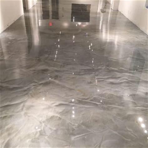 Metallic Epoxy for Floors, Metallic Garage Floor
