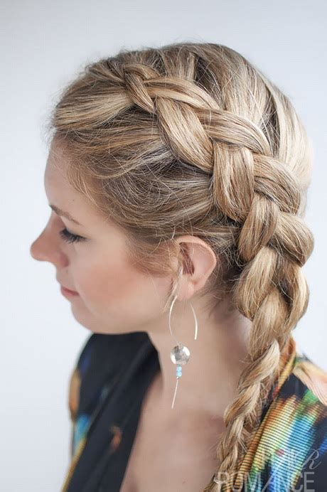 Hairstyles For Medium Length Hair Plaits | medium length braided hairstyles