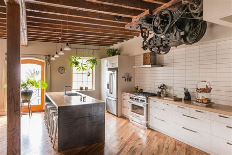 32 industrial style kitchens that will make you fall in