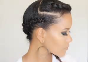 side swept hairstyles for black side swept braids hairstyle for black women
