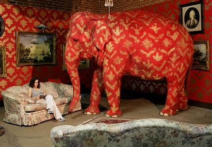 what does the elephant in the room elephant in the room evil