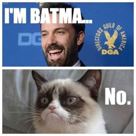 Cat In Suit Meme - 20 of the best reactions memes to ben affleck as batman