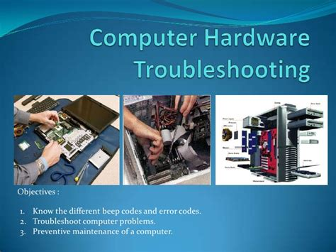 Troubleshooting Power Issues Desktop by Computer Hardware Troubleshooting