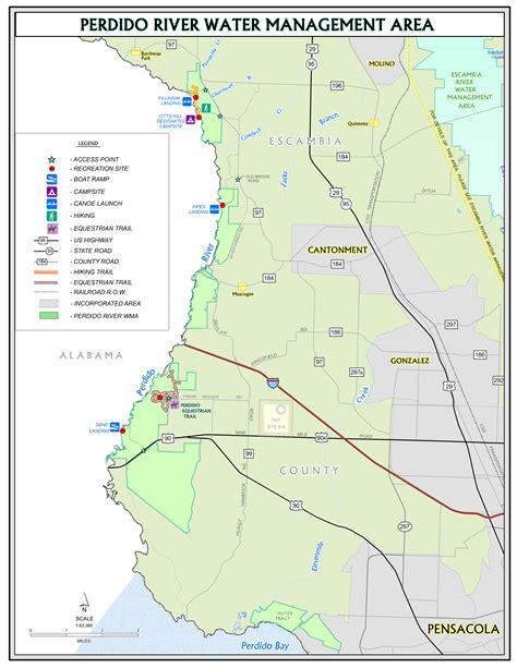 northwest florida water management district map perdido river northwest florida water management district