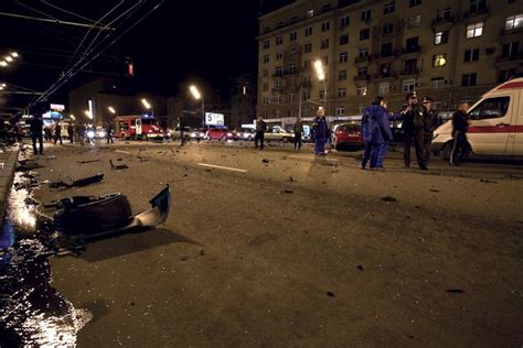 Lamborghini W Moskwie by Rosja Lamborghini Wypadek Autokult Pl