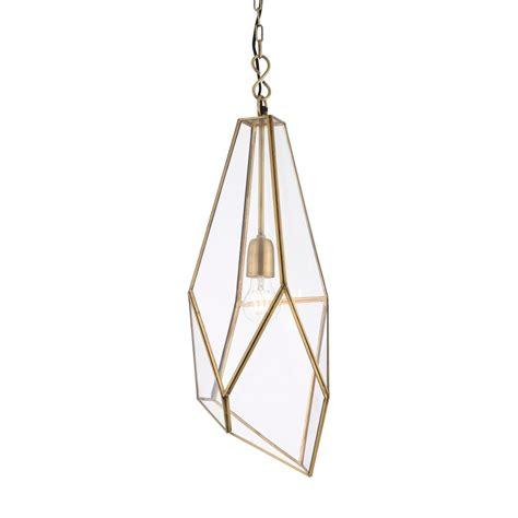 Single Light Pendant Endon Lighting Avery Single Light Ceiling Pendant In Antique Brass Lighting Type From