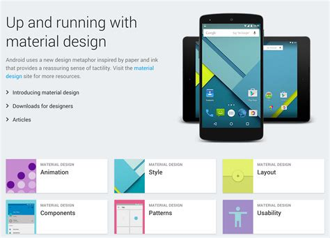 android design guidelines android design guidelines why they are important