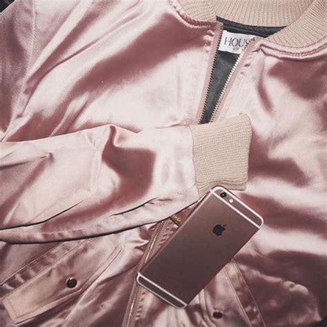 Sehm04 Set Hm Pink Flower Flower jacket pink jacket pastel pink satin all pink