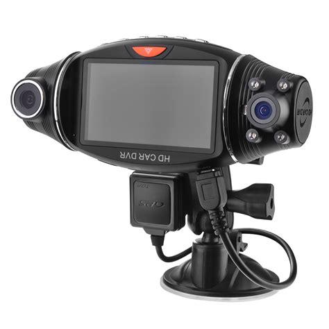 Dasbor Mobil 27 inci tft lensa ganda hd dvr di dasbor mobil kamera