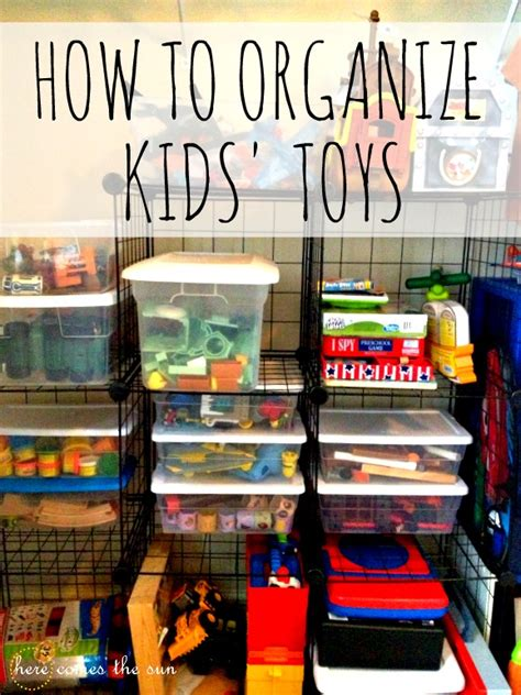 how to organize toys six small space storage solutions here comes the sun