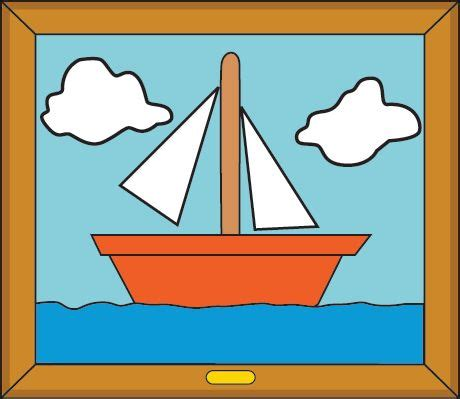 simpsons boat picture simpsons sail boat painting for the home pinterest