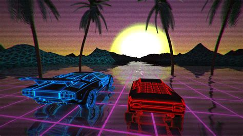 retro synthwave xbox  backgrounds themer