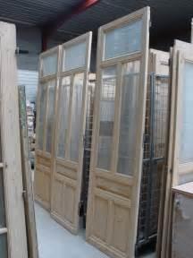 portes avec verre antiekbouw