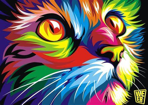 imagenes artisticas abstractas les animaux en vectoriel de wahyu romdhoni illustrations
