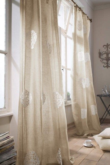 White Burlap Curtains 423 Best Home Decor Jute Burlap Linen Lace Organza Images On Bricolage Craft Ideas