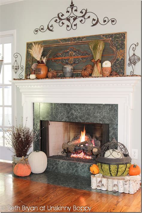 fall mantel decorating ideas fall 2012 mantel decadent and textured unskinny boppy