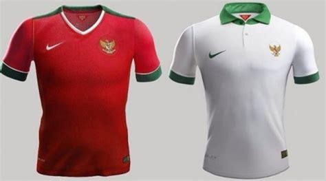 Jersey Lokal Timnas Indonesia Away Putih Kerah Hijau Premium 1 diego michiels kecewa lihat jersey timnas indonesia untuk piala aff 2014 kabar berita