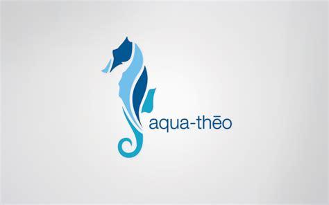 aqua theo logo design aqua fitness classes by design shopp creative direction design