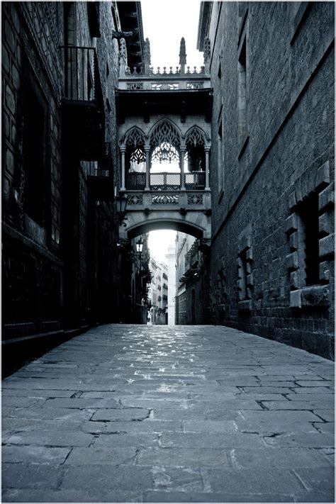 barcelona gothic quarter gothic quarter barcelona streets scenes from around