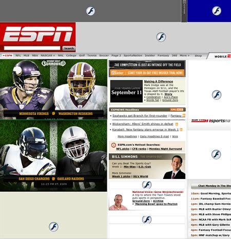 how to make the espn homepage more enjoyable