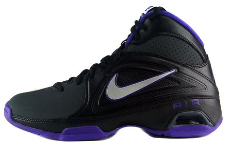 black and purple basketball shoes nike air visi pro iii sz 6 5 mens basketball shoes black