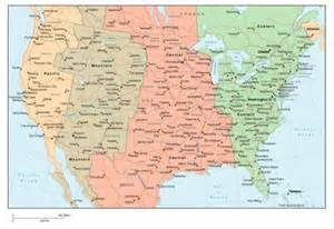 us time zone map with cities map of us time zones with cities topographic map