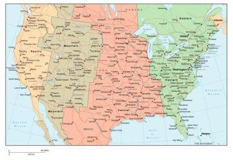 map of usa time zones with cities free map of usa cities holidaymapq
