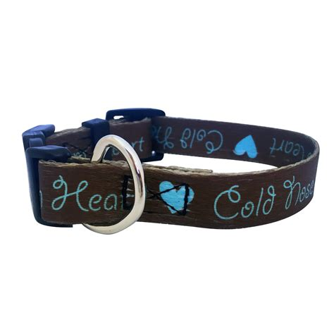 cold nose poochie pets quot cold nose warm quot collar assorted sizes