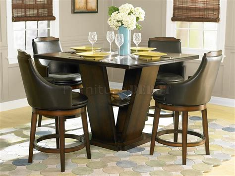 Bar Height Dining Room Table Sets by Wonderful Counter Height Dining Table Coaster
