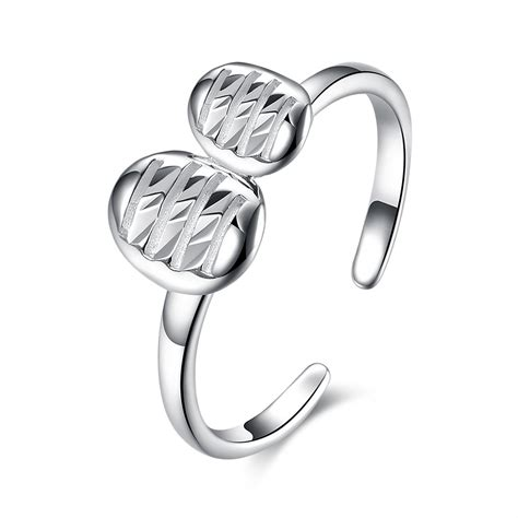 0291f0rsilver Sterling S925 Earrings Lovely 1 lovely s925 silver promise rings lajerrio jewelry