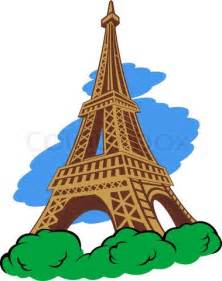 Paris Eiffel Tower Cartoon   free download wallpaper