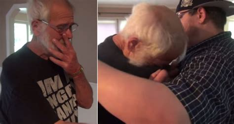 angry grandpa new house youtuber surprises his angry grandpa with a new house and his reaction is beautiful
