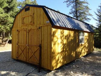 hickory sheds lofted barn idaho