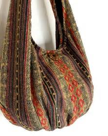Handmade Hobo Bags - handmade woven bag handbags purse tote bag thai cotton