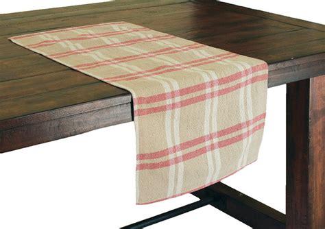 farmhouse table runner linen check table runner farmhouse table runners by xia home fashions
