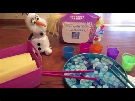 frozen themed party games frozen birthday party game ideas youtube