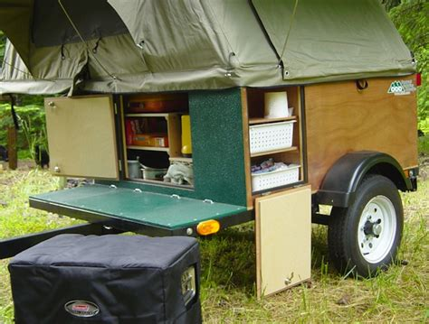 diy tent campers   build   tiny trailer