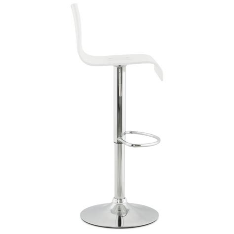 Tabouret De Bar Plexi by Tabouret De Bar Design Plexi Blanc