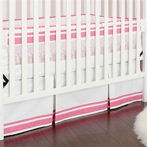 Safe Crib Bedding Just Born 174 Safe Sleep Collection Crib Bedding In Pink