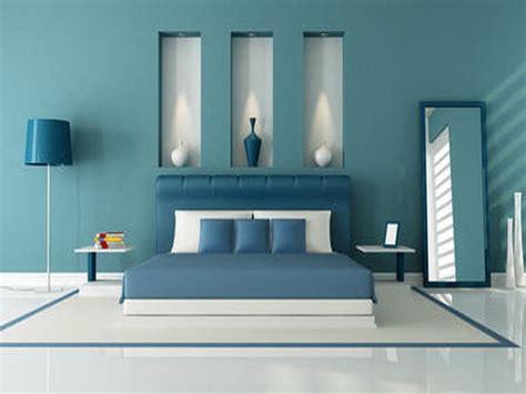 kombinasi warna biru  desain interior rumah