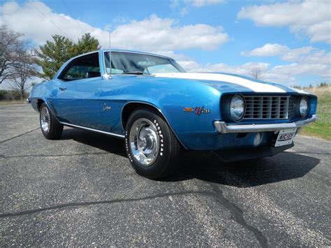 1969 camaro z28 blue 1969 z28 camaro x33 zl2 lemans blue the supercar registry