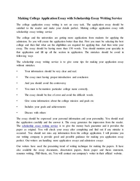 Community Service College Essay by Community Service Scholarship Essay