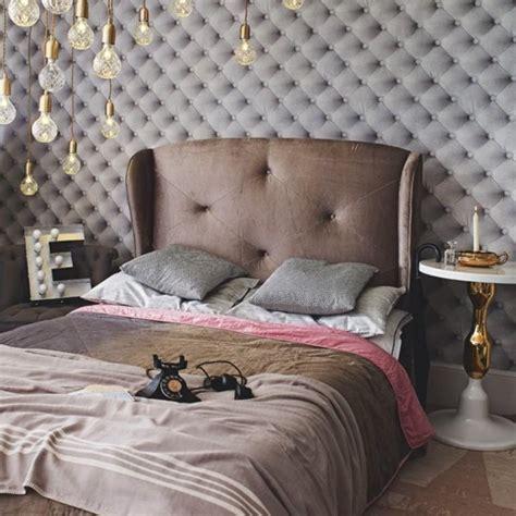 schlafzimmer vintage modern 15 statement studded headboards in modern bedrooms rilane